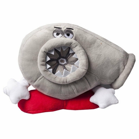 Turbo Pillow Cushion Teddy Plush Soft Car Vehicle