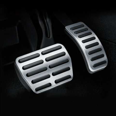 Automatic Audi Stainless Steel Pedal Covers - Fits A1, A3, A4, A5, A6, A7, TT/S