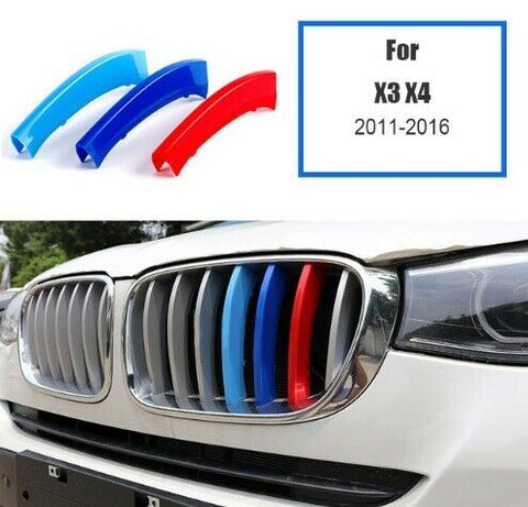BMW M Sport Power Grille Trim Clips For BMW X3 F25 X4 F26 2011 - 2016