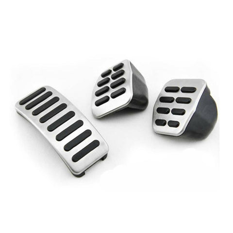VW Bora Golf Vento Lupo Polo 6N2 Beetle Fox Stainless Steel Pedal Covers