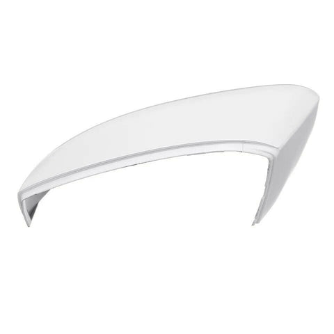 VW Polo Wing Mirror Cover Gloss White LEFT Replacement Fits: 09 - 17 MK5 6R 6C