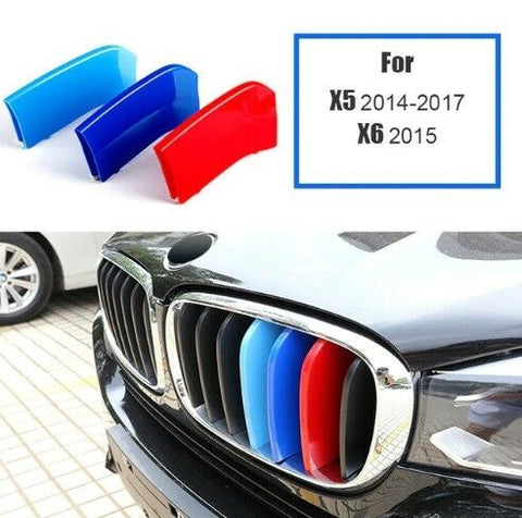 BMW M Sport Power Grille Trim Clips For BMW X5 F15 2014 - 17 & X6 F16 2015