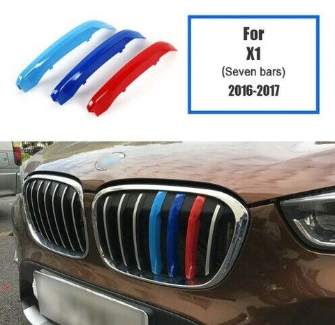 BMW M Sport Power Grille Trim Clips For BMW X1 F48 2016 - 2017 (7 Bars)
