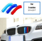 BMW M Sport Power Grille Trim Clips For BMW 5 series F10 2014 - 2017