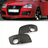 VW Golf MK5 GTI Honey Comb Fog Light Grill Cover 06-09