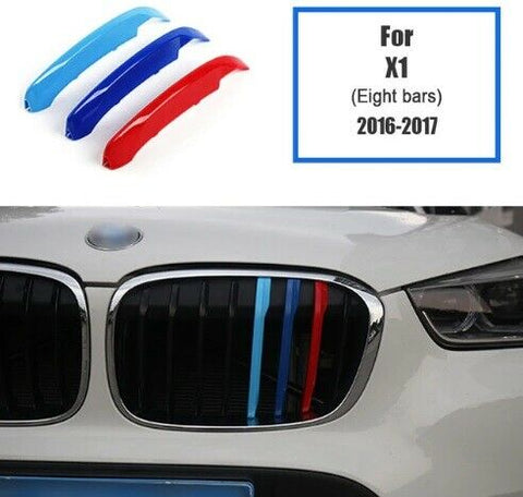 BMW M Sport Power Grille Trim Clips For BMW X1 F48 2016 - 2017 (8 Bars)