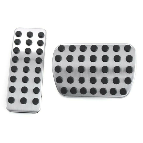 Mercedes Automatic Stainless Steel Pedal Covers A B GLA CLA ML GL Class