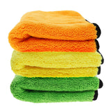 Car Wash Thick Super-Absorbent Micro Fiber Two Sided Towel High Quality 45x38 cm