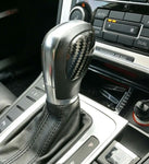 VW DSG Gear Stick Knob Carbon Fibre Decal Sticker Styling Cover