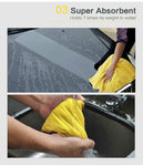 Car Wash Microfiber Towel Car Cleaning Drying Cloth Extra Large 92 x 56cm UK