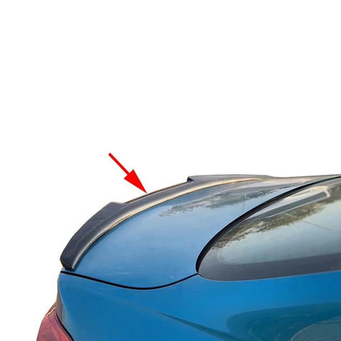 2 Series F22 M Tech Rear Spoiler Lip For BMW F87 M2 Carbon Fiber Trunk Spoilers