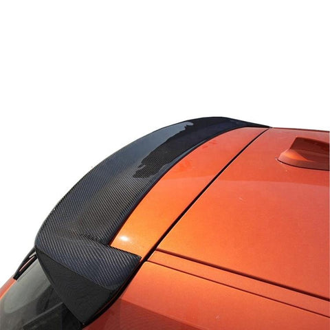 1 Series F20 Carbon Fiber Rear Roof Spoiler For BMW F20 2012-2014