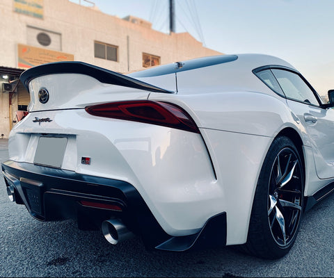 Supra 2019 Carbon Rear Lip Spoiler
