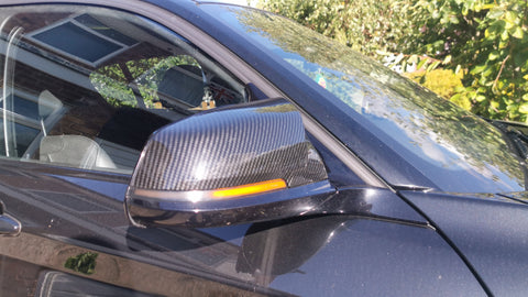 Sweeping Dynamic BMW Mirror Indicators