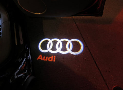 Audi LED Car Door Welcome Logo Projector Lights