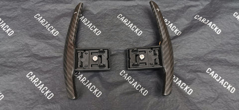 BMW Carbon Fibre Paddle Shifter Replacements carjackd
