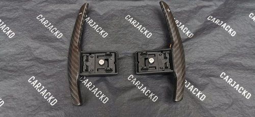 BMW Automatic Paddle Shift Replacements Dry Carbon Fibre