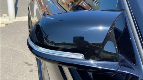 BMW M Style Gloss Black Replacement Mirror Covers