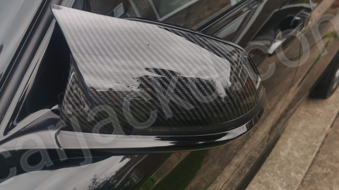 BMW M Style Carbon Fibre Effect Replacement Mirror Covers