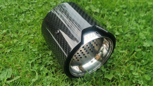 BMW MPerformance 2 x Exhaust Tips Silver