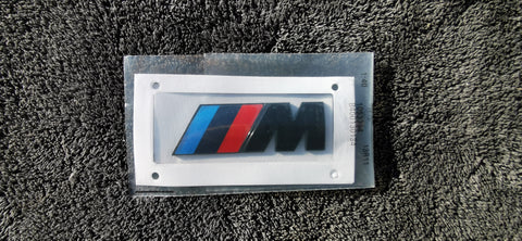 Gloss Black BMW M Badge