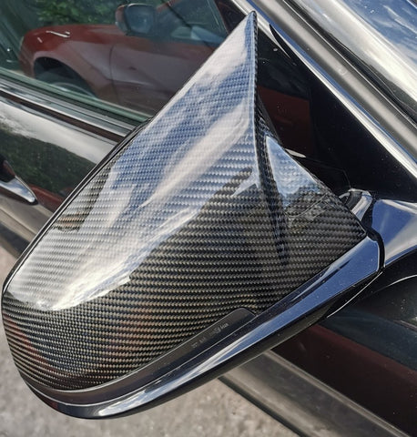BMW M Style Carbon Fibre Replacement Mirror Covers