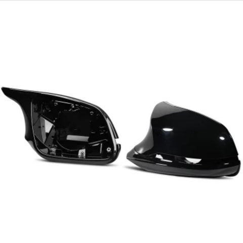 BMW F Series M3/M4 Style Gloss Black Mirror Cover Units