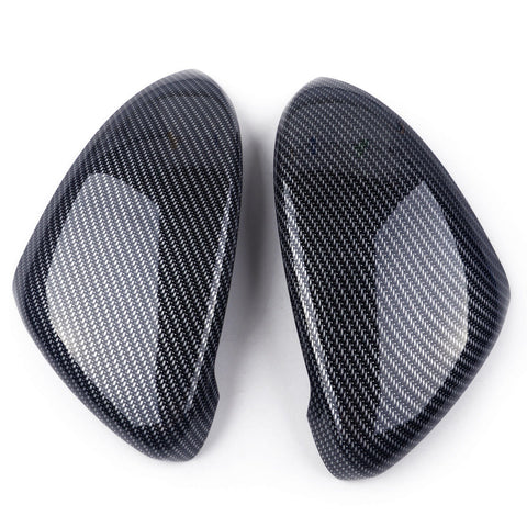 NEW VW Golf MK7.5  Wing Mirror Covers Carbon Fibre Look 2018 Case Replacement