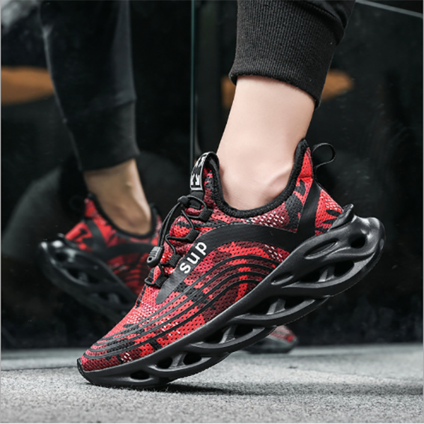 Men's Fashion Flying Woven Outdoor Breathable Casual Sports Shoes