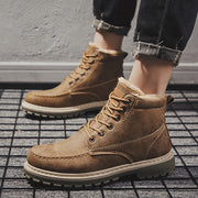 British trend warm plus cotton Martin boots