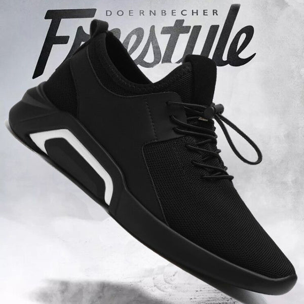 Basic style mens sneakers