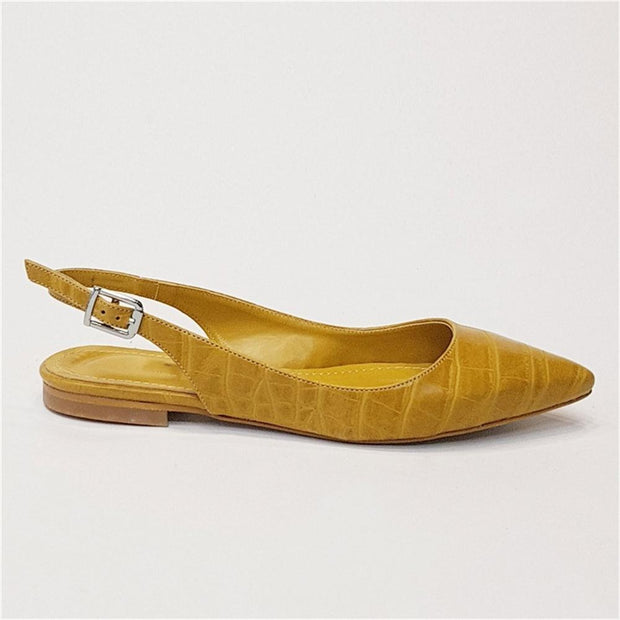 Women's Buckle Point Flat Shoes