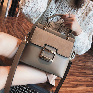 Fashion Wide Shoulder Strap Hand-Held Slant Slant Shoulder Bag