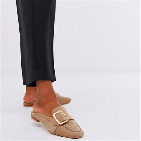 Fashionable Leather Muller Shoes