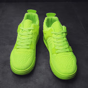 Brief Mesh Light Breathable Solid Color Sneakers
