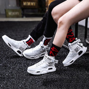 Couple casual sports high-top sneakers wq09
