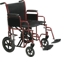 Drive: Bariatric Steel Transport Chair