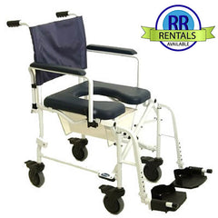 Invacare: Mariner Rehab Shower Chair with Commode