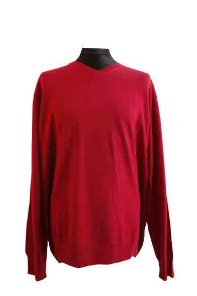 1ffb996ee26 J By Jasper Conran Mens Big And Tall Dark Pink Merino V Neck Jumper 3XL