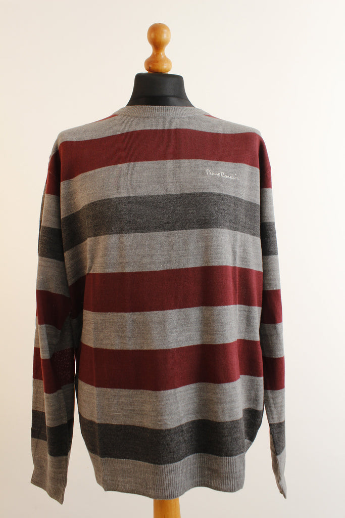 and mens blue sweaters striped burgundy