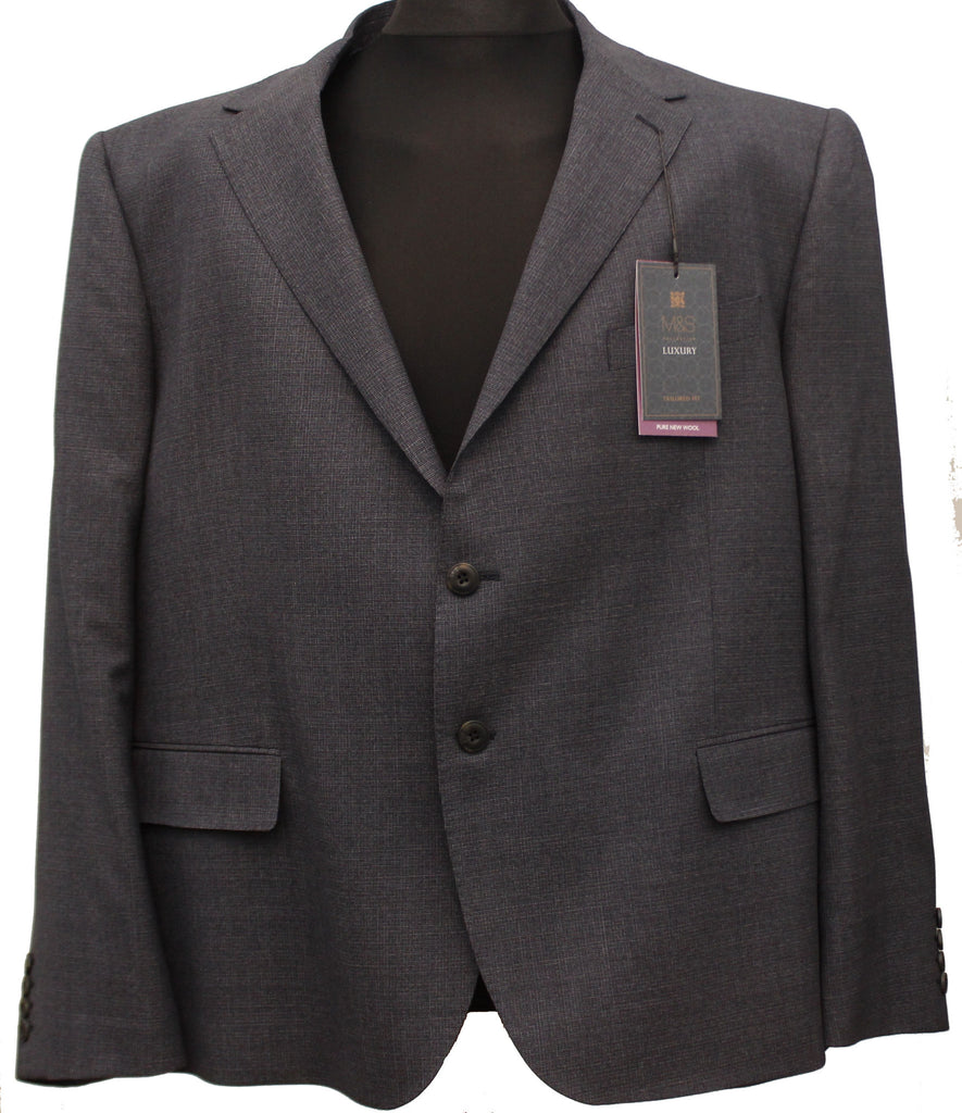 Mens jacket marks and spencer -  Marks Spencer Mens Big Tall Pure Wool Tailored