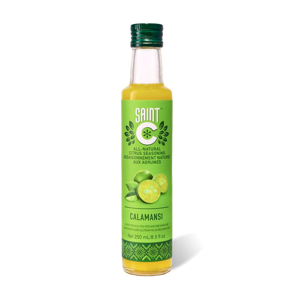 Saint C 100% Pure All-Purpose Calamansi (Philippine Lime) All Natural Citrus Seasoning 250ml - Foodsource PH