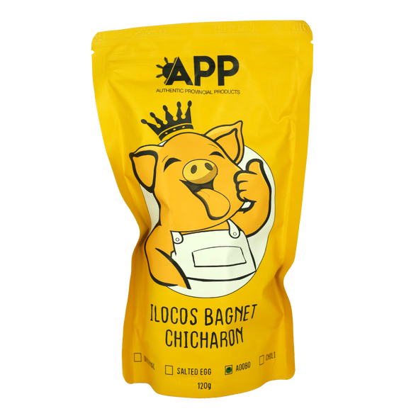 APP Ilocos Bagnet Chicharon – Adobo 120g - Foodsource PH