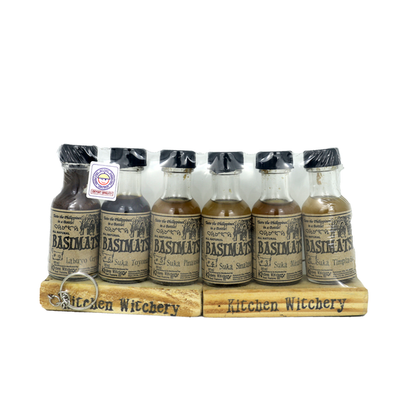Basimatsi Product Samplers (35ml x 6 bottles) - Foodsource PH