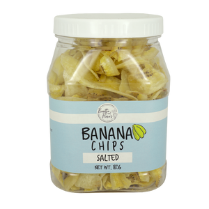 Benitta and Flora's Banana Chips Salted 180g