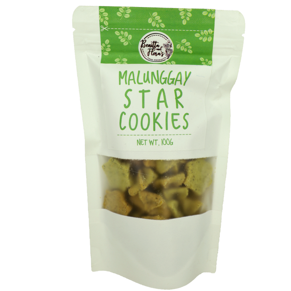 Benitta and Flora's Malunggay Star Cookies 100g - Foodsource PH