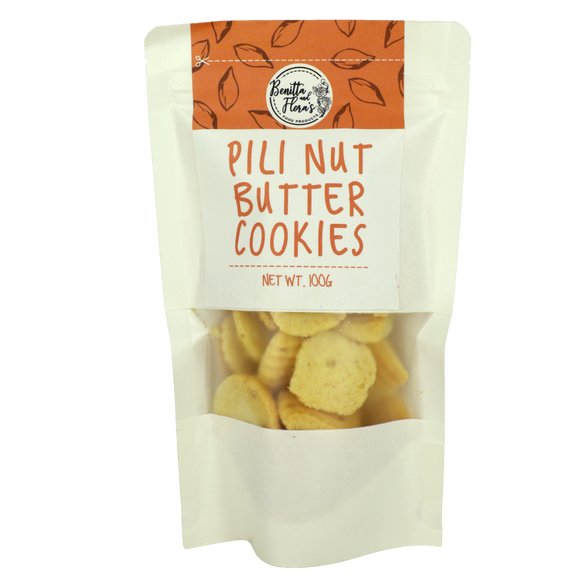 Benitta and Flora's Pili Nut Butter Cookies 100g - Foodsource PH