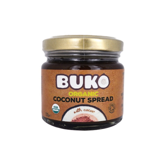 Buko Organic Coconut Spread with Cacao 120g - Foodsource PH