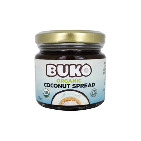 Buko Organic Coconut Spread with Sea Salt 120g - Foodsource PH