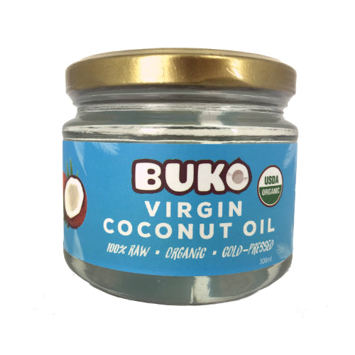Buko Organic Virgin Coconut Oil 300ml - Foodsource PH